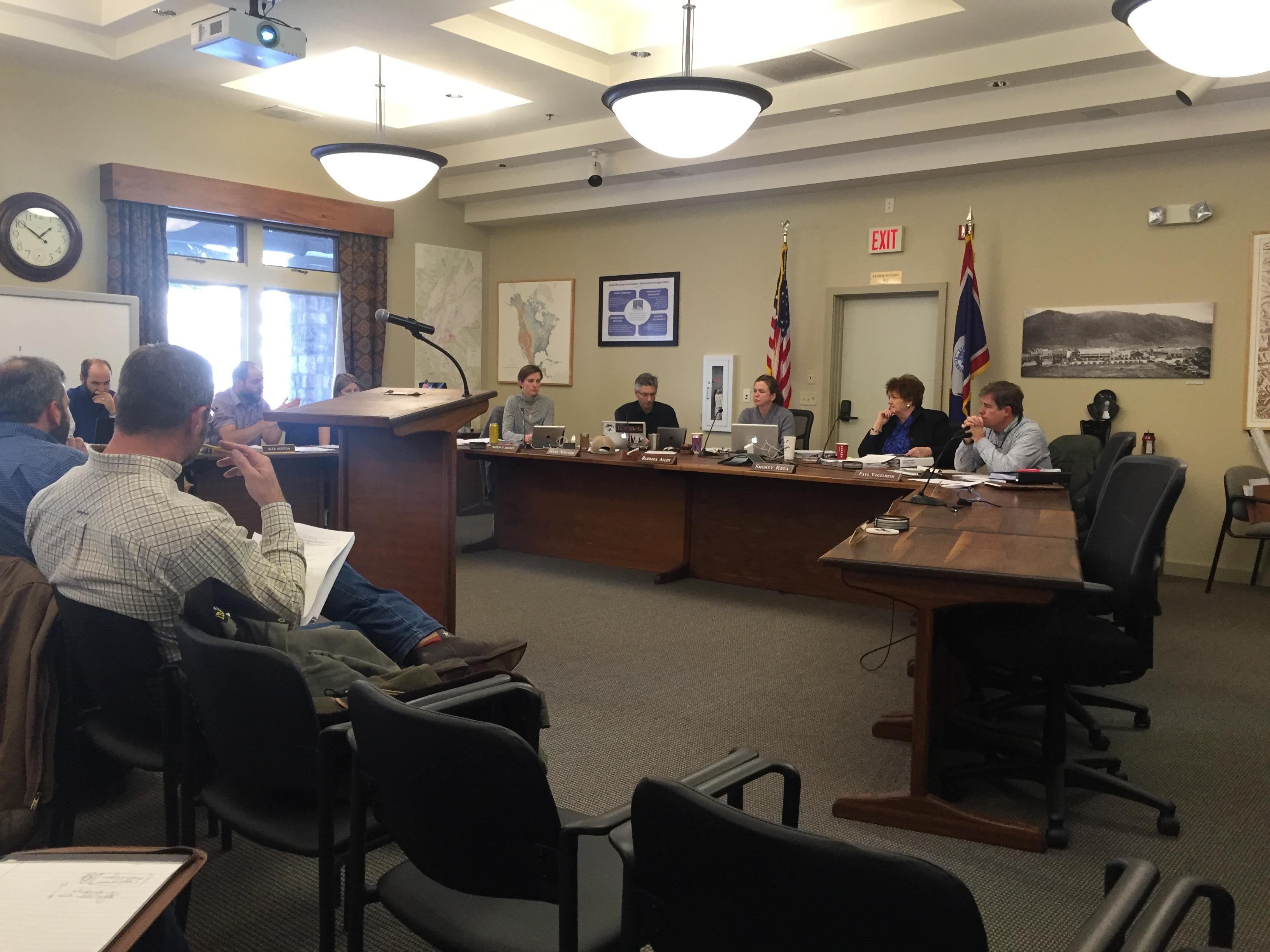Rural LDR revisions at BCC meeting
