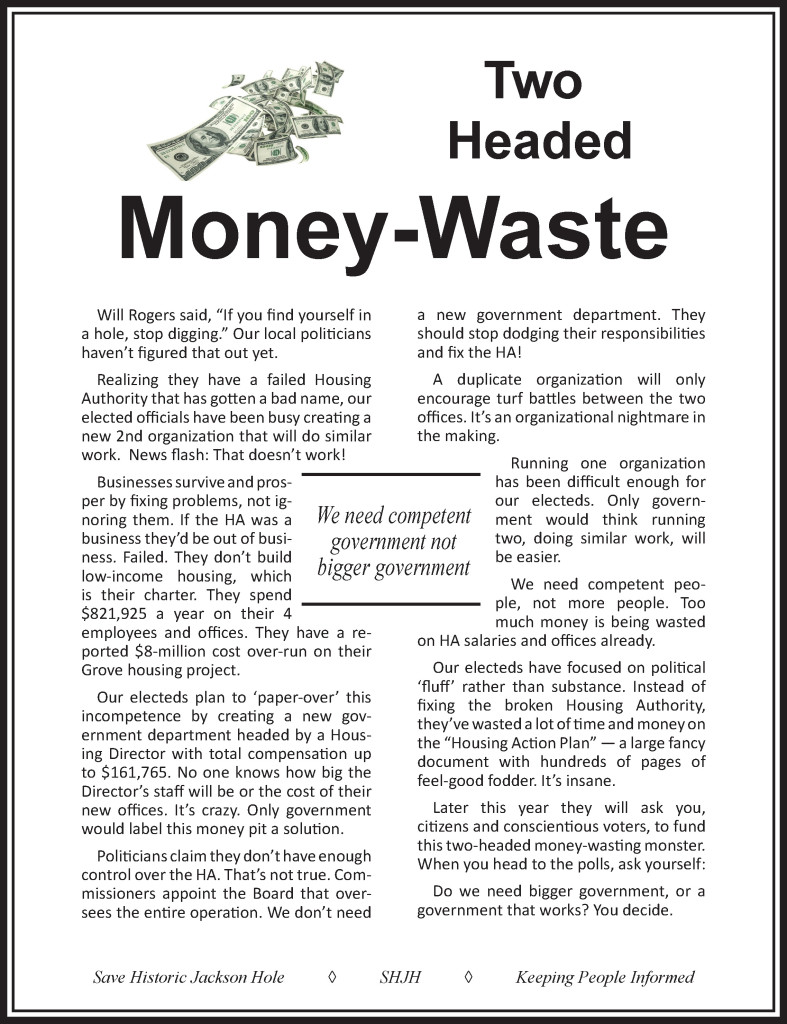 SHJH ad in 2-27-16 issue of the News&Guide.